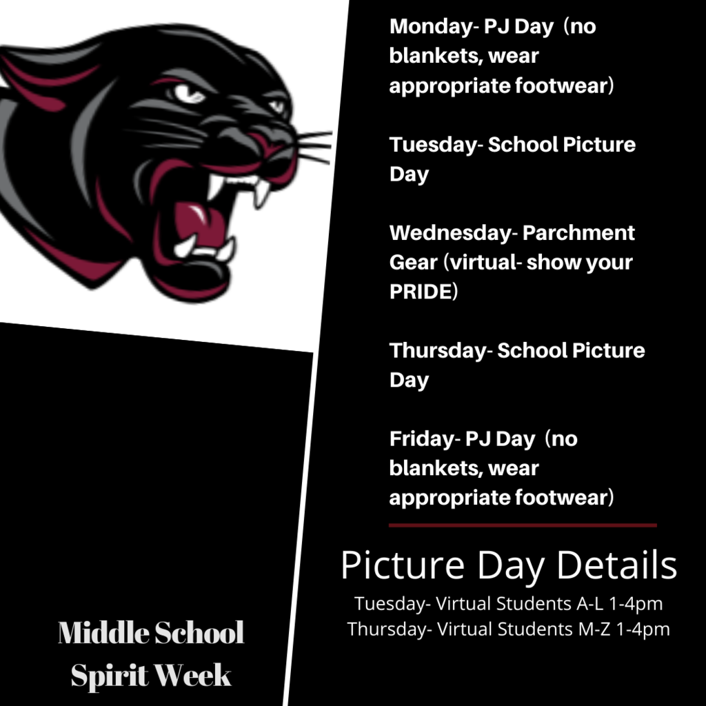 Spirit week and pictures